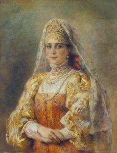 Portrait of Princess Zinaida Yusupova