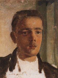 Portrait of S. Dyagilev