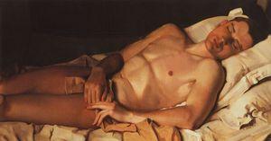 Naked Young Man (B. Snezhkovsky)