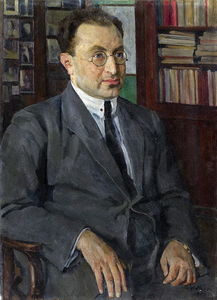 Portrait of the poet Grigory Shirman