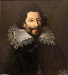 Portrait of a knight of Saint Michael