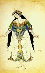 The Firebird, the tsarevna