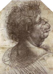 A Grotesque Head Grotesque head