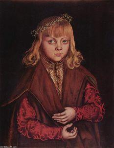 Portrait of a Saxon Prince