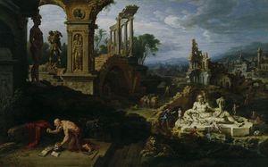 Landscape with St. Jerome