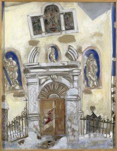 An angel painter