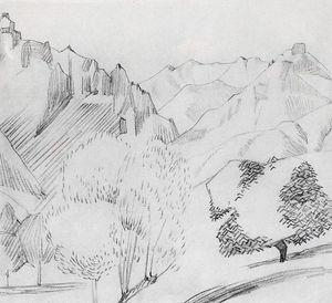 Landscape in Kalaki (Gohtan)
