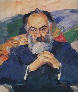 Portrait of Academician Josef Orbeli