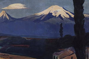 Sunrise over Ararat