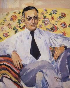 Portrait of a film director Ruben Simonov