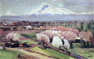 Ararat at spring