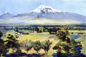 Ararat from Dvin