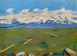 Aragats in clouds