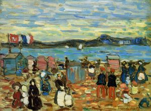 Bathing Tents, St. Malo