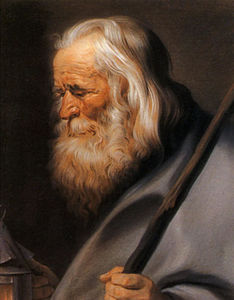 Diogenes, after Peter Paul Rubens
