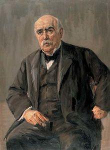 Portrait of Eugen Gutmann
