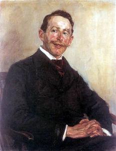Portrait of Dr. Max Linde