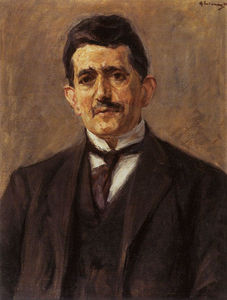 Portrait of the publisher Bruno Cassirer