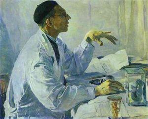 Portrait of S. S. Yudin