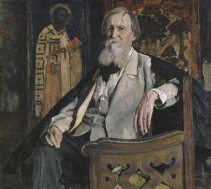 Portrait of Victor Vasnetsov