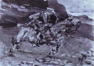 Rider (''Is carried horse faster of fallow-deer...'')