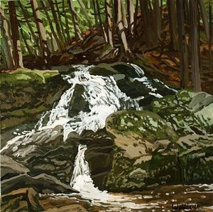 Study for Falls - Jam Brook
