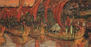 Vladimir campaign to Korsun (Red Sails)