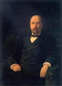 Portrait of the Poet Nikolay Nekrasov