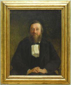 Portrait of Historian M.Kostomarov