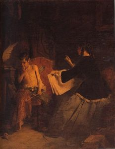 Eros and the painter
