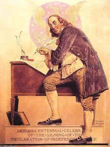 Ben Franklin0s Sesquicentennial
