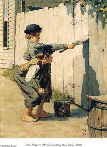 Tom Sawyer (Whitewashing the Fence)