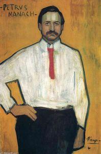Portrait of Petrus Manach