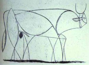 Bull (plaque IX)