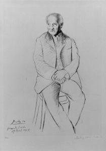 Portrait of La Scala master of ballet