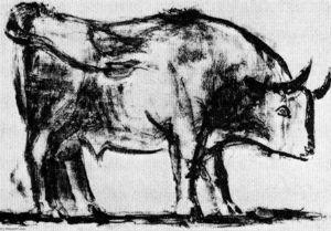 Bull (plate I)