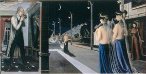 The streetat night