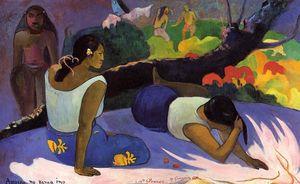 Reclining Tahitian Women