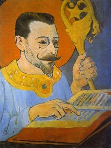 Portrait of Paul Ranson Dressed as a Prophet