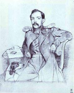 Portrait of Lieutenant Lvov