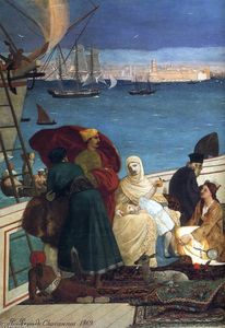 Marseilles, Gate to the Orient (detail)