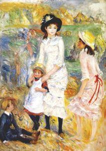 Children on the seashore