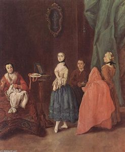 Lady at the Dressmaker