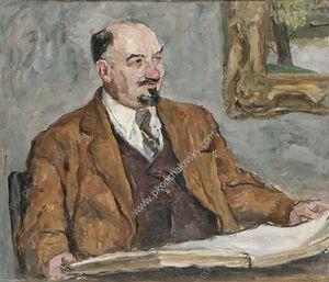 Portrait of Professor N. P. Remizov