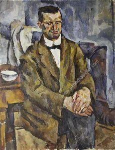 Portrait of the sculptor P. Bromirsky