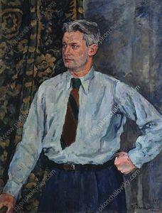 Portrait of Alexander Alexandrovich Fadeyev