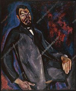 Portrait of a historian V. S. Protopopov