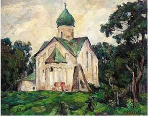 Novgorod. Peter and Paul Church.