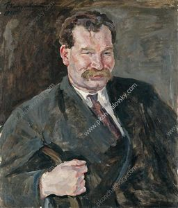 Portrait of V. F. Sakharov