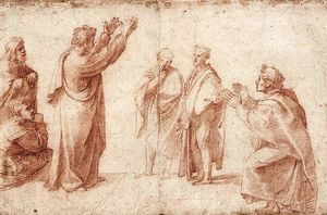 Study for St. Paul Preaching in Athens